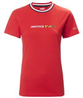 Musto Woman's Flag T-shirt