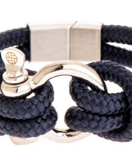 Touw Armband Rvs Harpsluiting