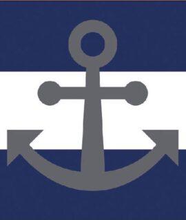 Servetten – Anchor Away Blue