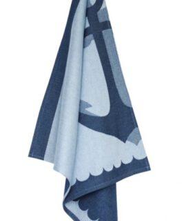 Theedoek – Anchor Blue